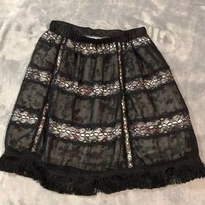 Beautiful skirt with gorgeous fabric